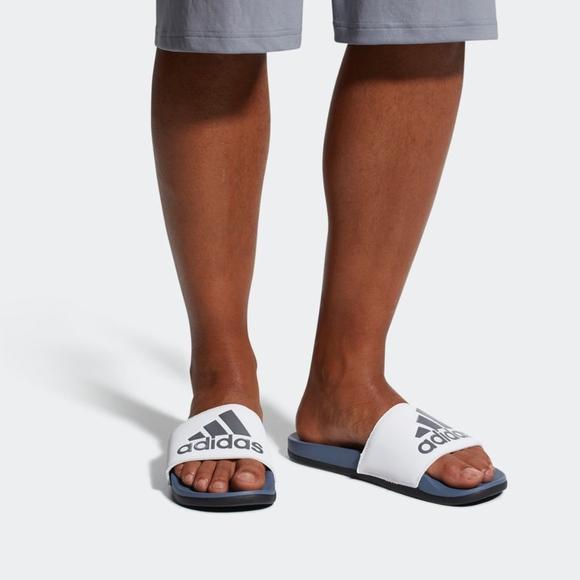 90f93a366f705d adidas ADILETTE CLOUDFOAM PLUS LOGO Men s Slides